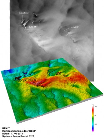 Multibeam image of the site (image:MACHU project)