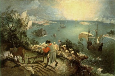 Bruegel,_fall of icarus